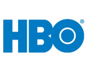 Blue HBO logo