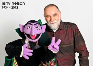 The Count and Jerry Nelson