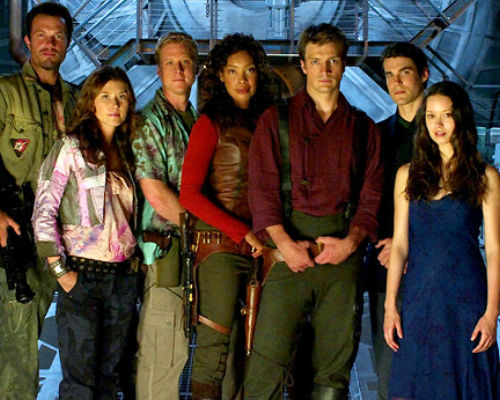 The cast of Firefly (image via thetvwatchtower.wordpress.com)
