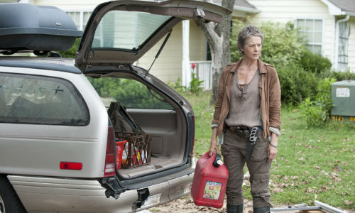 Buh-bye Carol, buh-bye! What looks like a harsh decision is actually the most merciful thing Rick could have done for you (image via digitalspy.com.au)