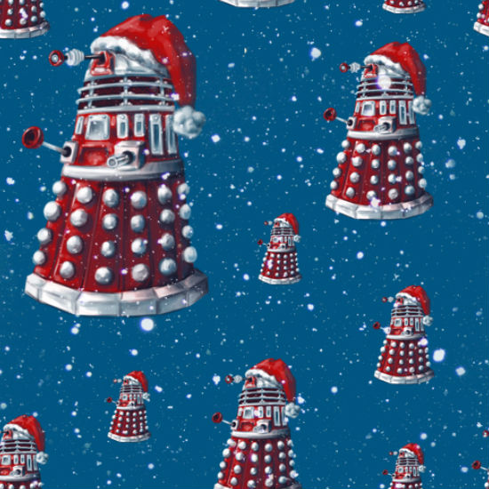Have yourself a very merry Dalek ... wait is that even possible? At Christmas yes it is! (image (c) Alex Plalex via alex-plalex.deviantart.com)