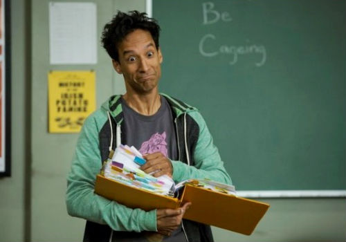 Abed finds that deciding if Nicholas Cage is good or bad, or maybe a bit of both, an entirely maddening idea, much like I did trying to figure out how I felt about Community season 5's first two episodes (image via screencrush.com)