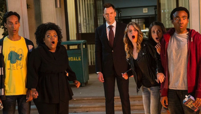 Much like the Greendale gang, I spent much of the first two episodes of Community season 5, now back with added Dan Harmon, not entirely sure what I was watching (image via hypable.com)