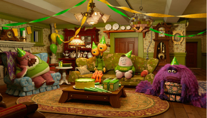 Party Central is the new Pixar short that will accompany Muppets Most Wanted (image via flicksandbits.com (c) Pixar/Disney)