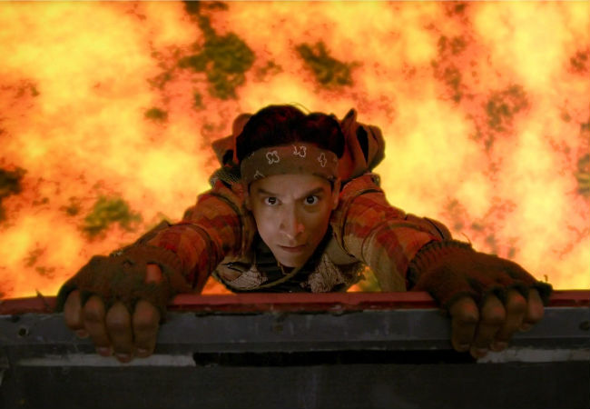 There really is lava! At least in Abed's fertile imagination at least as he grapples with the departure of BFF Troy (image via community-sitcom.wikia.com (c) NBC)