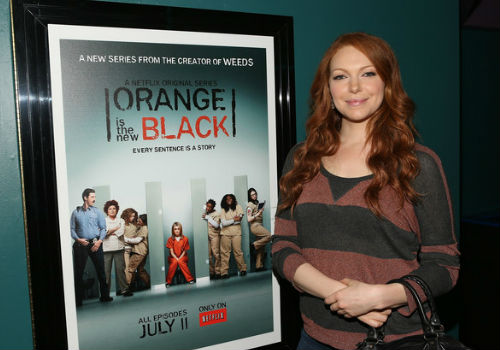 Laura Prepon plays Alex Krause in Netflix's Orange is the New Black and you'll never guess what she ... (image via zimbio.com)