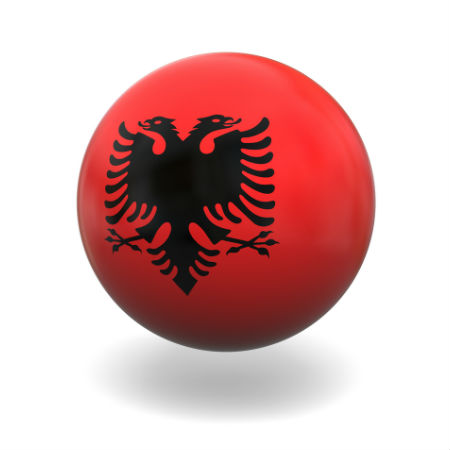 Eurovision Song Contest 2014 Albania flag