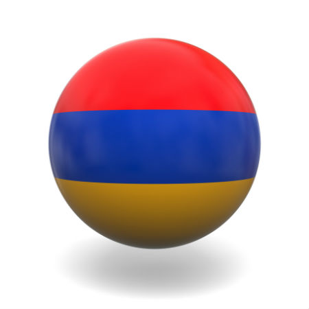 Eurovision Song Contest 2014 Armenia flag