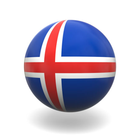 Eurovision Song Contest 2014 Iceland flag