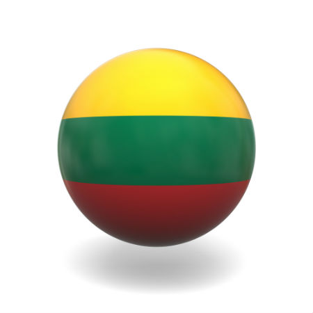 Eurovision Song Contest 2014 Lithuania flag