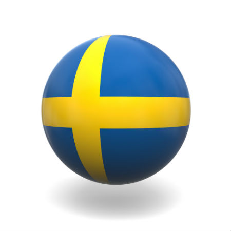 Eurovision Song Contest 2014 Sweden flag