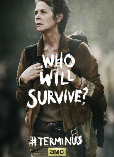 Carol in second of the posters released for season 4 finale (image via Den of Geek)