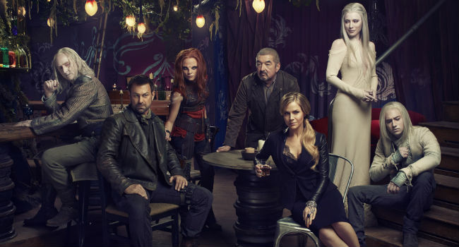 The core cast of Defiance season 2 (image via IGN (c) syfy)