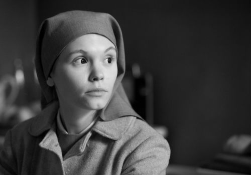 A young, beautiful woman who has already made her decisions about what matters to her, Ida spends much of the film, save for a few emotional outbursts of a kind, locked in steely, unwavering contemplation (image via official Ida website)