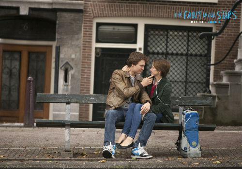 On a trip to Amsterdam to meet Peter van Houten, whose book An Imperial Affliction is the great literary love of Hazel's life, things don't quite go as planned and yet still perfectly do (image via official The Fault in our Stars movie site)