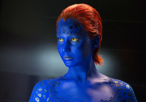 Convincing Mystique not to go wholly down the path of bloody vengeance is a Herculean task, one aided by Charles' decision to re-embrace his spurned mutant soul (image via X-Men Days of Future Past official site)