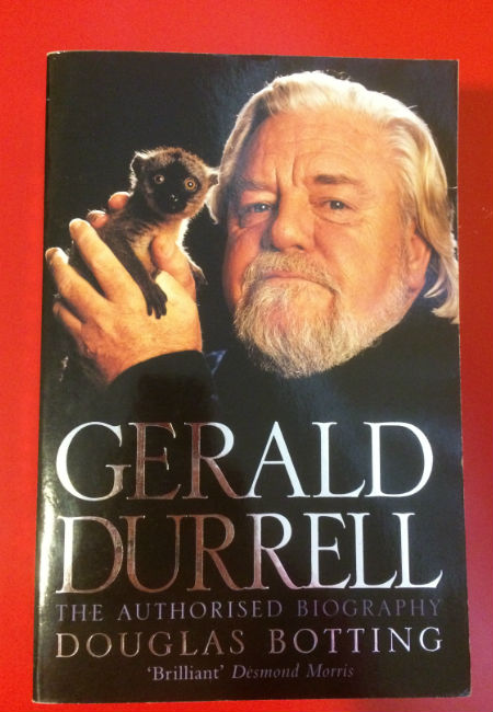 Ripd pages childhood Gerald Durrell MAIN