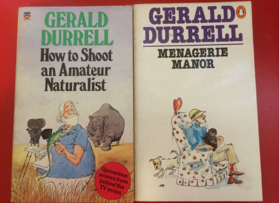 Ripd pages childhood Gerald Durrell books pic 1