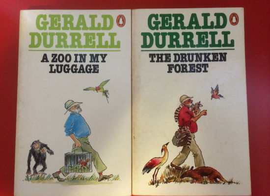 Ripd pages childhood Gerald Durrell books pic 2