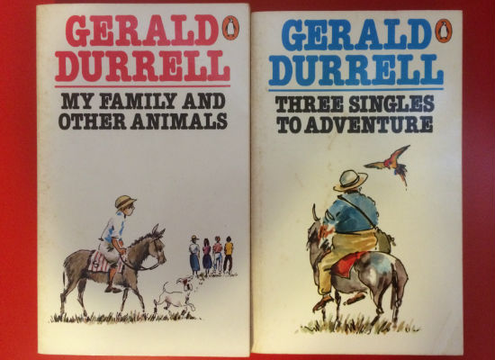 Ripd pages childhood Gerald Durrell books pic 4