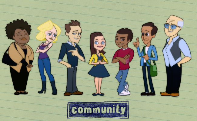 Impressive Community fan art from and (c) StevenRayBrown (DeviantArt)