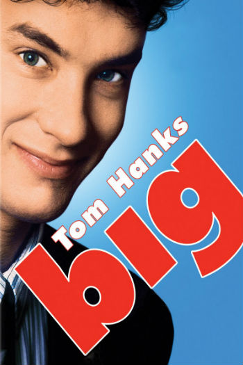 Tom Hanks in Big (image via Coverlandia (c) 20th Century Fox)