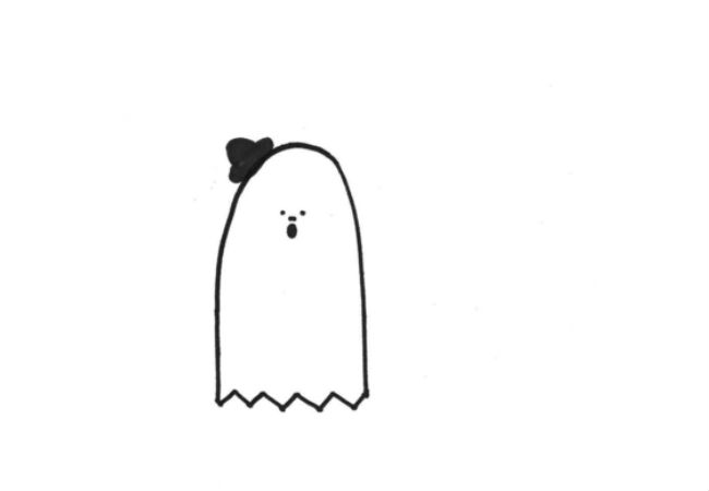 The Ghost of Charlie Chaplin (drawings (c) Alanna Okun and Jessica Probus Buzzfeed staff via Buzzfeed)