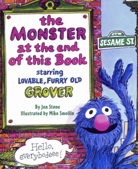 This is my favourite Little Golden Book of all. I cannot express how much I love it, and love Grover, my absolute favourite Sesame Street character of all. I love the Monster at the end of this book!