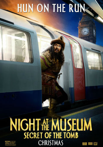 Night at the Museum 3 puntastic posters Patrick Gallagher