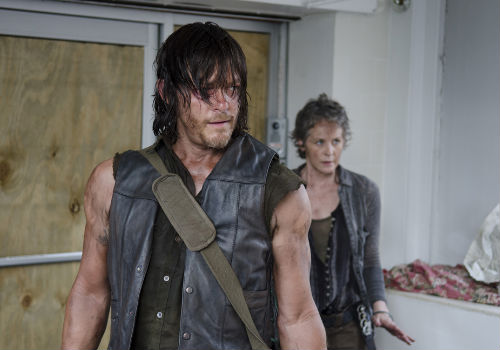 Daryl and Carol are simply bonded by [resent circumstance; they are bonded by shared life experience and an understanding that of how bad life can be and hence how good it is to still be alive to change things, both for themselves and others (Photo by Gene Page/AMC)