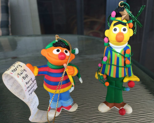 Ernie and Bert (from my collection)