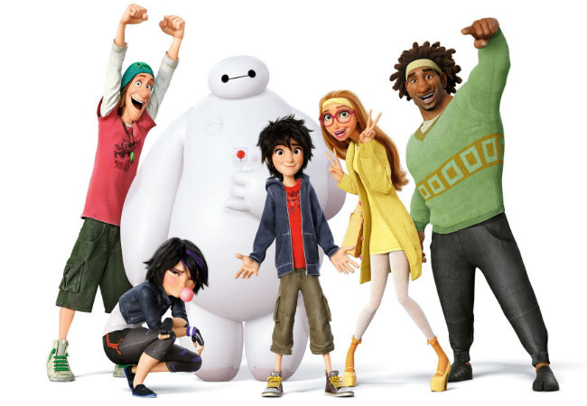 The Big hero 6 team