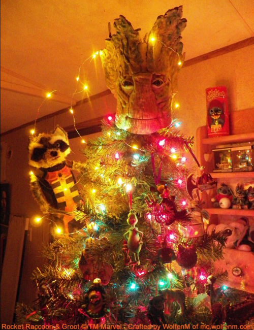 """I am (Christmas) Groot"" (image via Boing Boing)"