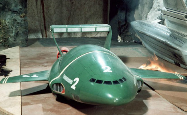 Thunderbirds are set to go all over again, 50 years after the debut of the original series (image via ITV News)