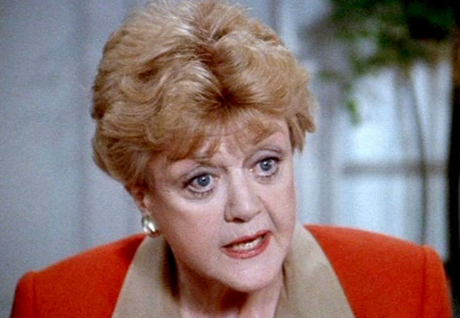 Angela Lansbury as Jessica Fletcher (image via Your TV (c) CBS)