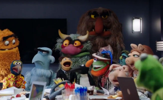 The Muppets are back on TV where they belong! YAAAAY! (Yes that is my inner '70s child expressing itself in case you're wondering) (image via YouTube (c) ABC/Disney)