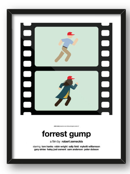 Weekend Pop Art Viktor Hertz Forest Gump