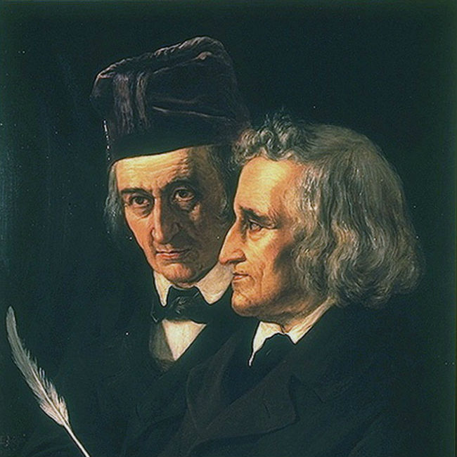Jacob and Wilhelm were Grimm, no question. (image via Wikimedia Commons)