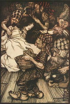 Arthur Rackham Snow White Wikimedia Commons, CC BY