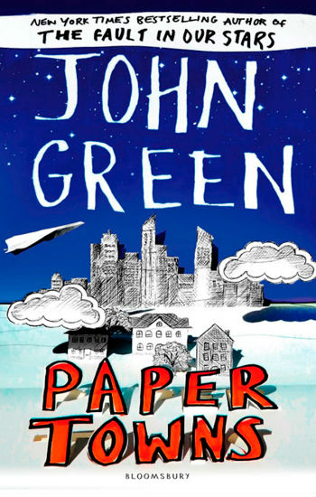 The UK cover of Paper Towns (image via Sugarscape)