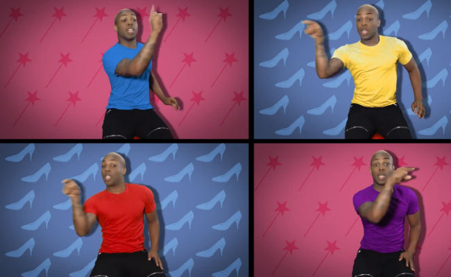 Todrick Hall sings his glorious way through The Evolution of Disney (Image via YouTube (c) Todrick Hall)