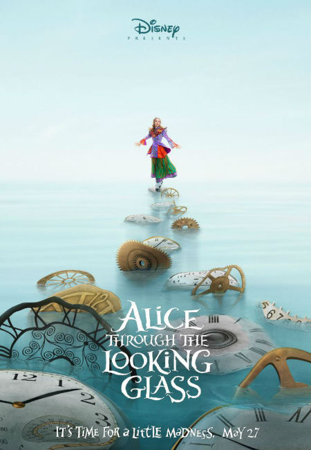 Mia Wasikowska returns as Alice, venturing once more to Underland in Alice Through the Looking Glass (image via Zap2it (c) Disney)
