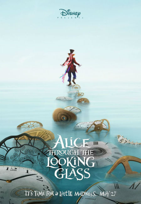 Johnny Depp returns as the Mad Hatter in Alice Through the Looking Glass (image via Zap2it (c) Disney)