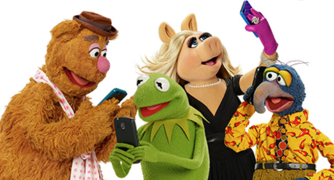 The Muppets are back ... and now with added mockumentary-ness! Wocka! Wocka! (image via official The Muppets Facebook page (c) ABC/Disney)