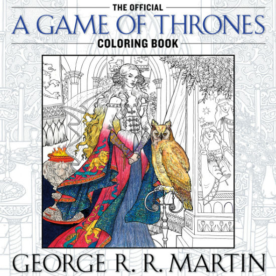 Colouring books Game of Thrones 1