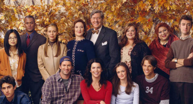 The cast of Gilmore Girls (image (c) Warner Bros)
