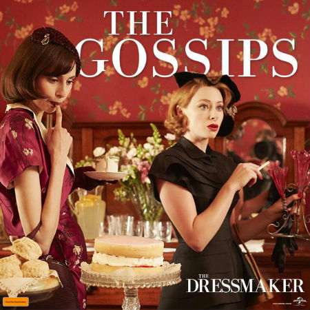Meet Nancy Pickett and Prudence Harridiene, inseparable partners in crime. Lovers of gossip and lies, they egg each other on. (Text and photo (c) Universal via official The Dressmaker Facebook page)