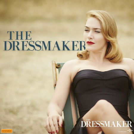 Meet Tilly Dunnage. After many years working as a dressmaker in exclusive Parisian fashion houses, she's returned home to the tiny middle-of-nowhere town of Dungatar to right the wrongs of the past. (Text and photo (c) Universal via official The Dressmaker Facebook page)