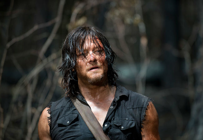 """Daryl Dixon finds himself sans his bike, his crossbow and quite possibly any residual trust in humanity in """"Always Accountable"""" (image courtesy AMC)"""