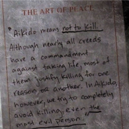 A worthy philosophy that Eastman venerates, and Morgan slowly but surely comes to venerate but does it really have a place in this dangerous undead world? (image via The Supernatural Fox Sisters (c) AMC)